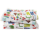 Twin Junior Varsity Sheet Set (includes 1 fitted sheet, 1 flat sheet and 1 case)