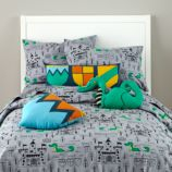 Knighty Night Duvet Cover
