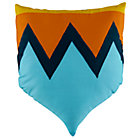 Blue Shield Throw Pillow