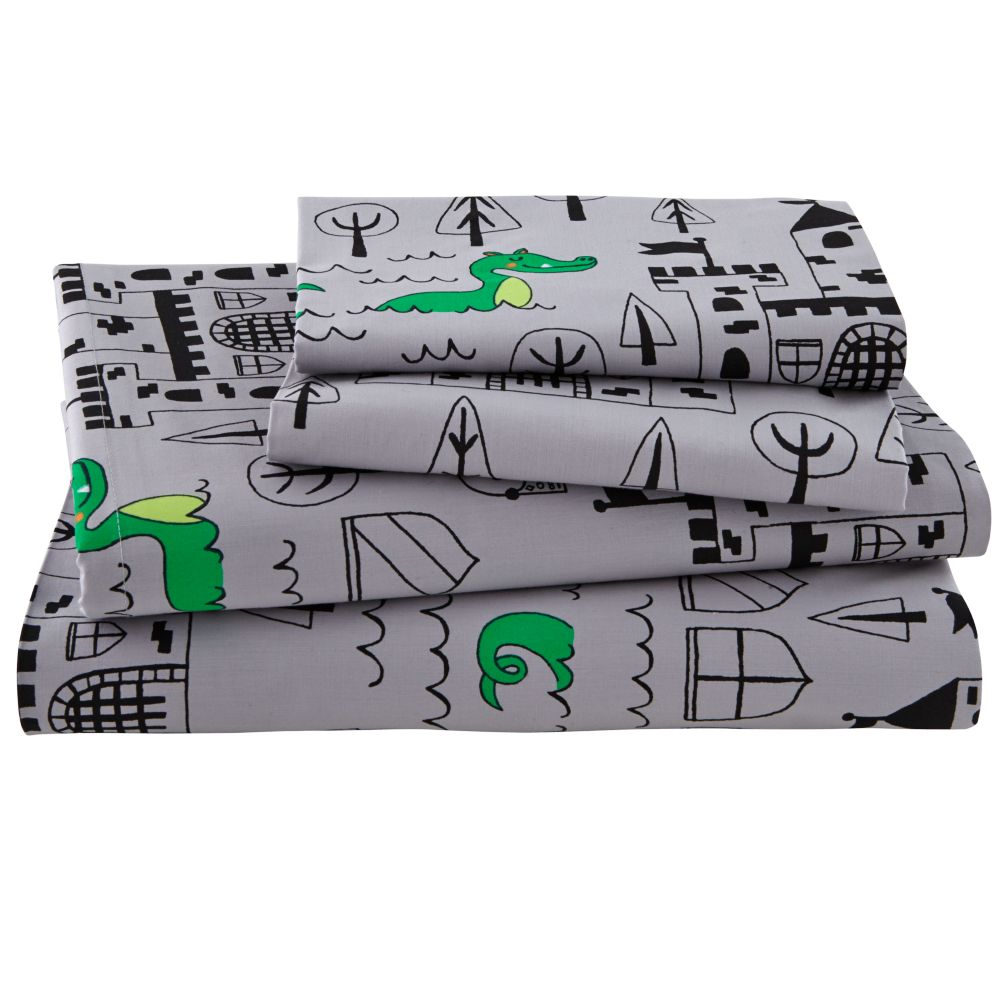 Knighty Night Sheet Set (Full)