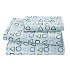 Twin Laguna Geometric Sheet Set