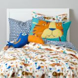 Lions and Tigers Duvet Cover