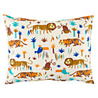 Lions and Tigers Printed Sham