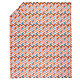 Twin Little Prints Duvet Cover (Orange Zig Zag)