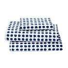 Twin Blueberry Print Sheet SetIncludes fitted sheet, flat sheet and one pillowcase