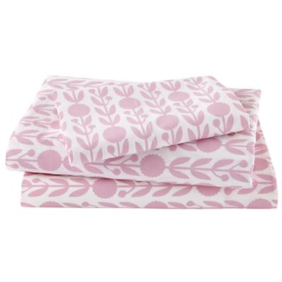 Twin Pink In the Mix Floral Sheet Set