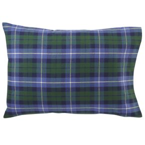 Northwoods Flannel Pillowcase (Blue Plaid)