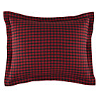 Red Plaid Flannel Pillowcase