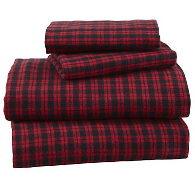 Northwoods Flannel Sheet Set (Queen)