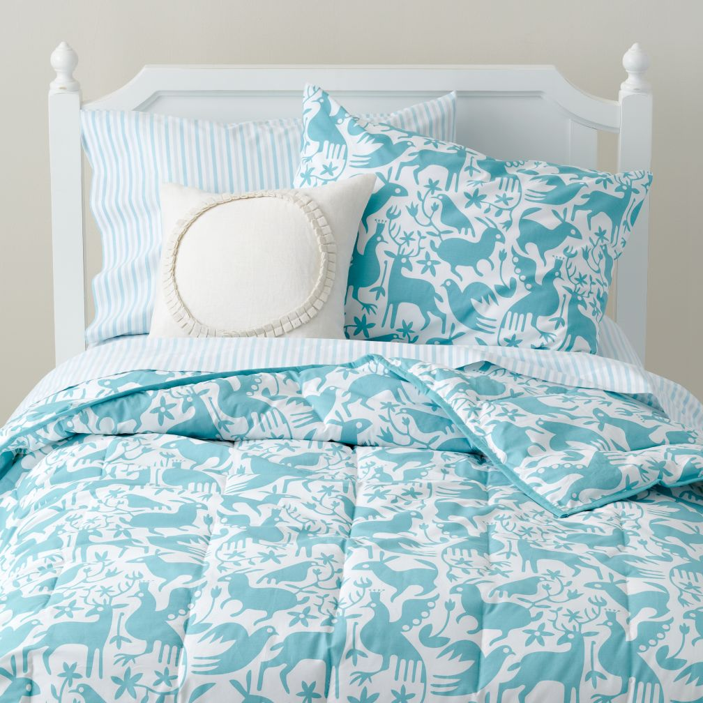 Animales Grficos Bedding (Teal)