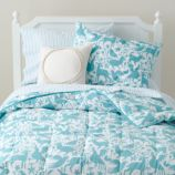 Animales Gráficos Bedding (Teal)