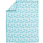 Twin Teal Animal Comforter