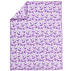 Twin Lavender Animal Comforter