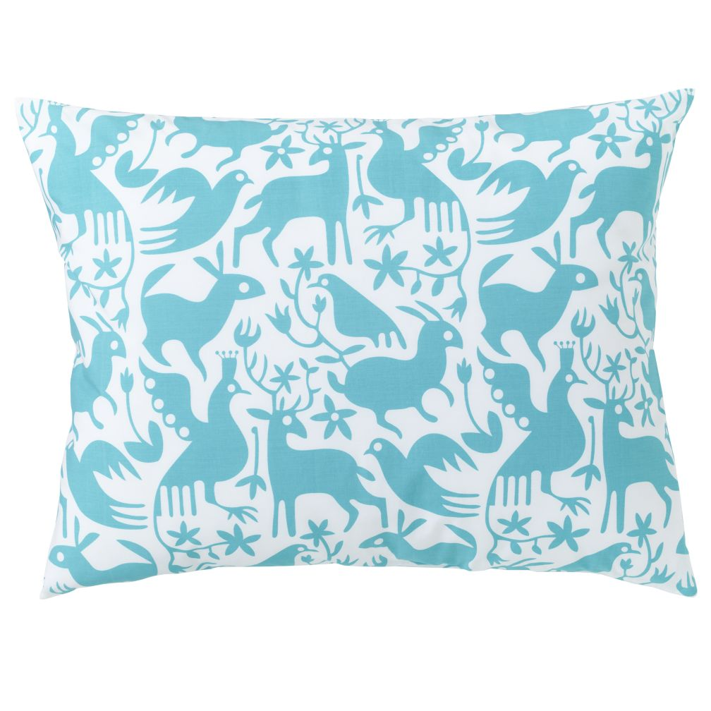 Animales Grficos Teal Sham