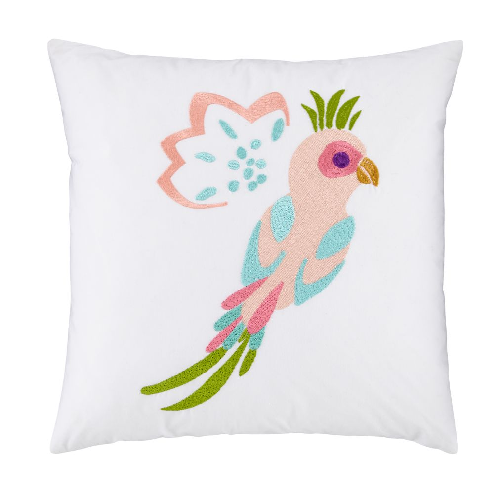 Parrot Throw Pillow Cover