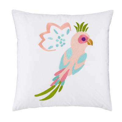 Bedding_Parrots_Embroidered_Pillow_LL