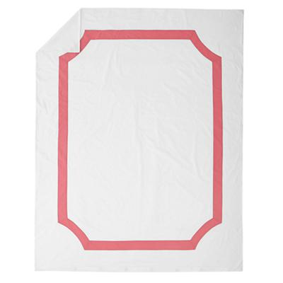 Twin Bordeaux Duvet Cover (Pink)