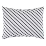 Pattern Party Sham (Grey Stripe)