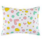 Multi Heart Pattern Party Sham