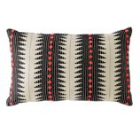 Pom Throw Pillow (Black)