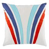 Racing Stripe Throw Pillow