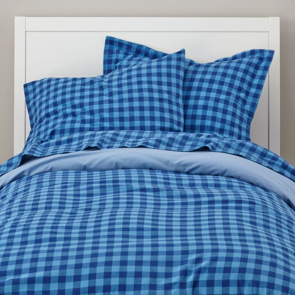 Indie Plaid Flannel Duvet Cover