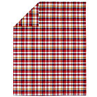 Full-Queen Pink Pick Your Plaid Duvet Cover