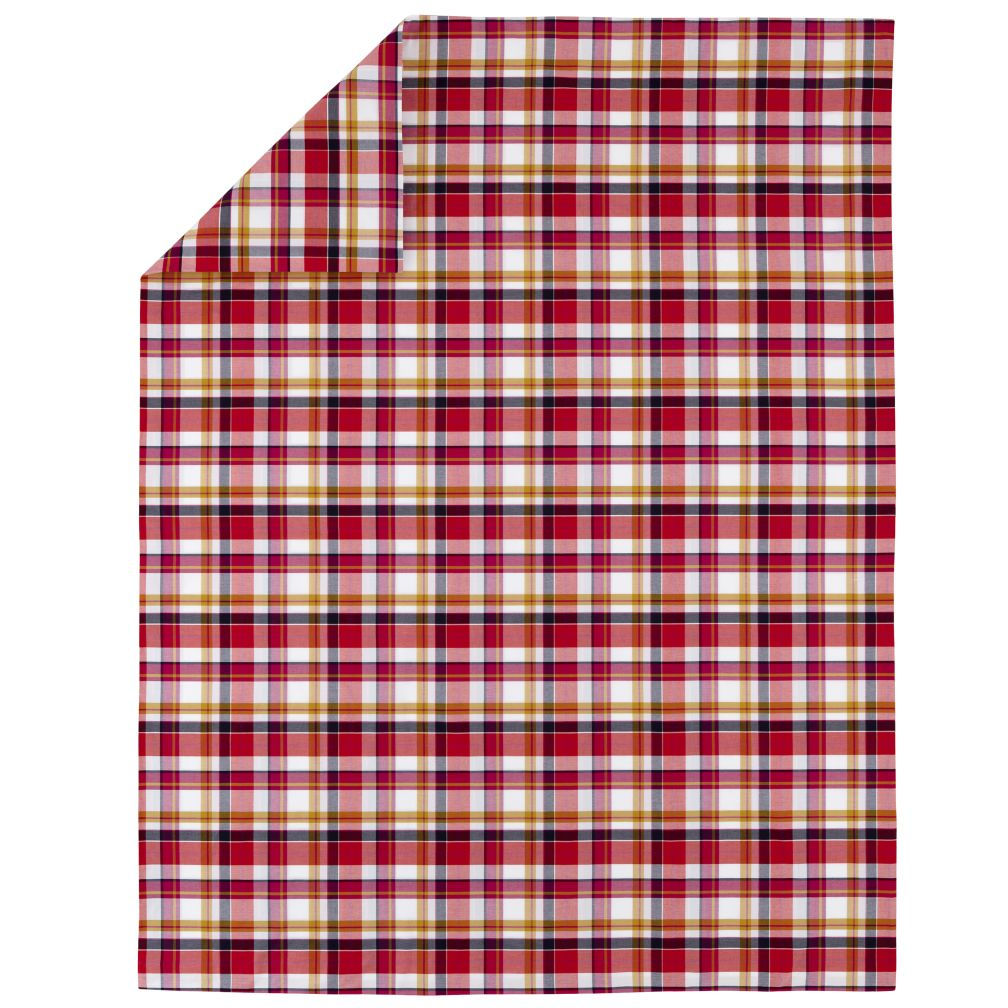 Piick Your Plaid Pink Duvet Cover (Twin)