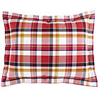 Pick Your Plaid Pink Sham