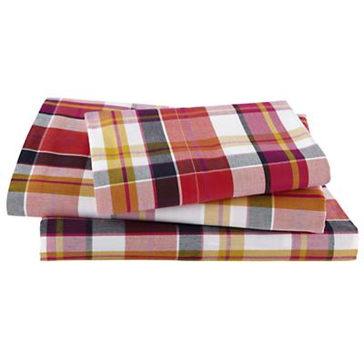 Pick Your Plaid Pink Sheet Set (Twin)