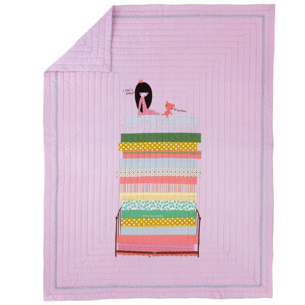 Princess and the Pea Quilt (Twin)