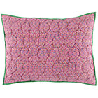 Princess and the Pea Sham (Pink Multi Polka Dot)
