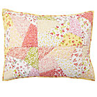 Puzzle Patch Quilted Sham