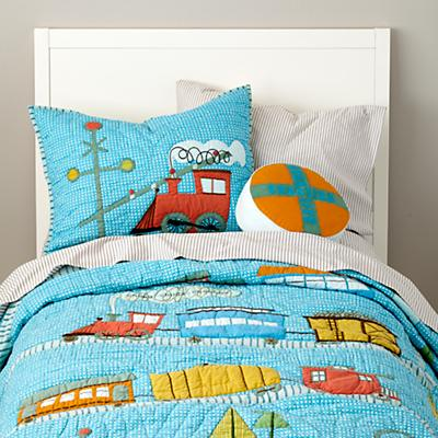 Ride the Rails Bedding