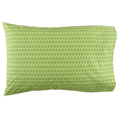 Green Leaf Pillowcase
