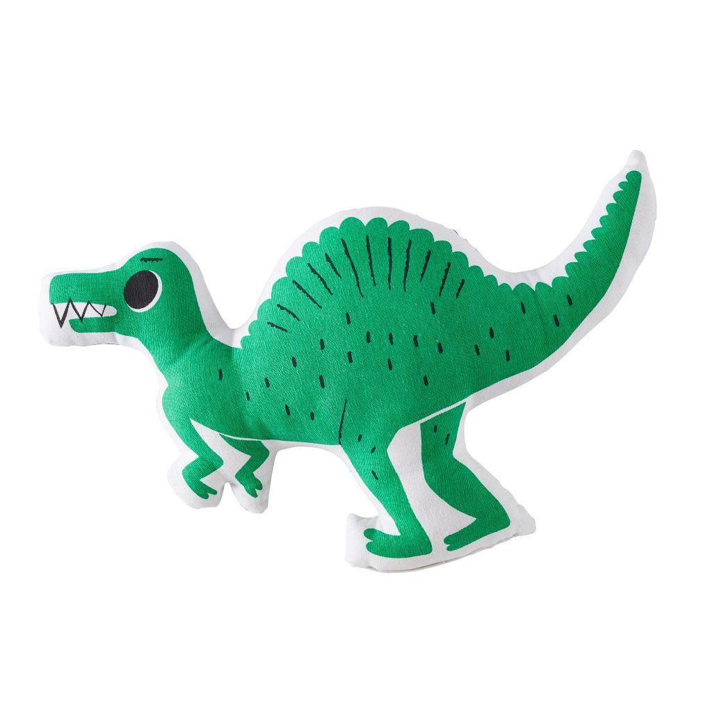 Retro Reptile Throw Pillow (Green)