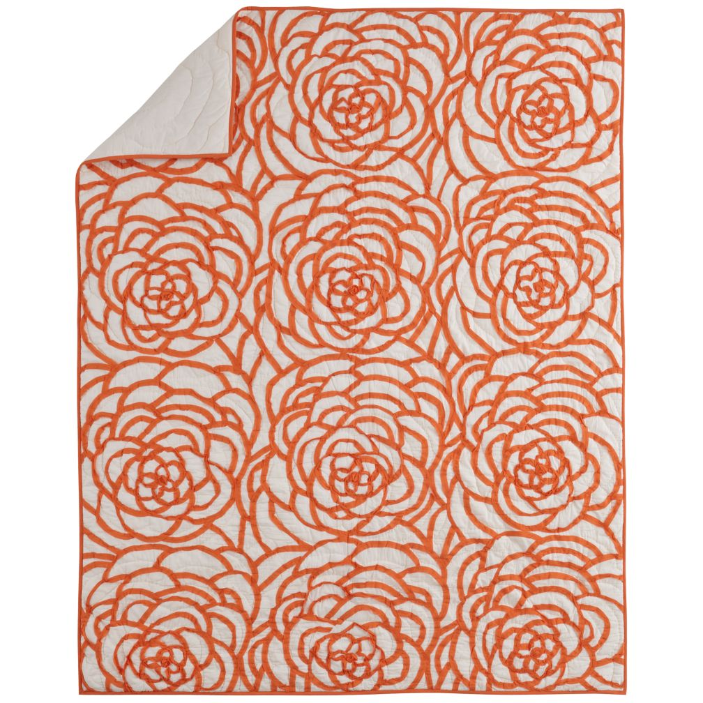 Rose Ribbon Quilt (Twin)