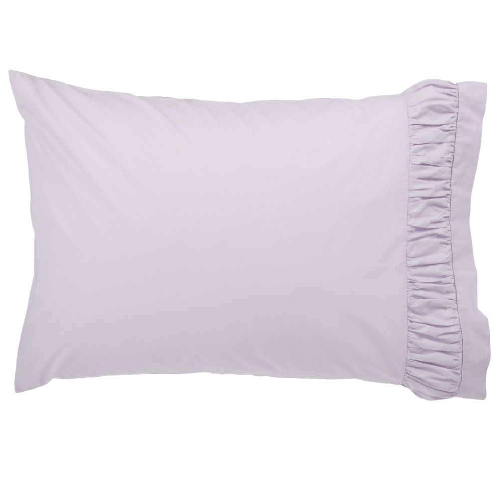 Thrilled to be Frilled Lavender Pillowcase