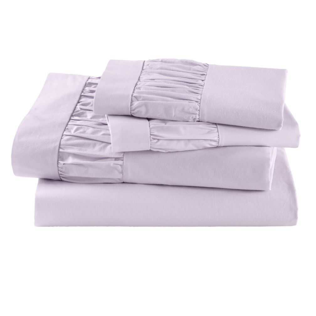 Thrilled to be Frilled Lavender Sheet Set (Full)