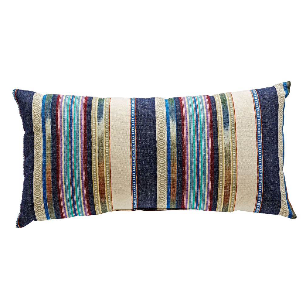 Serape Throw Pillow