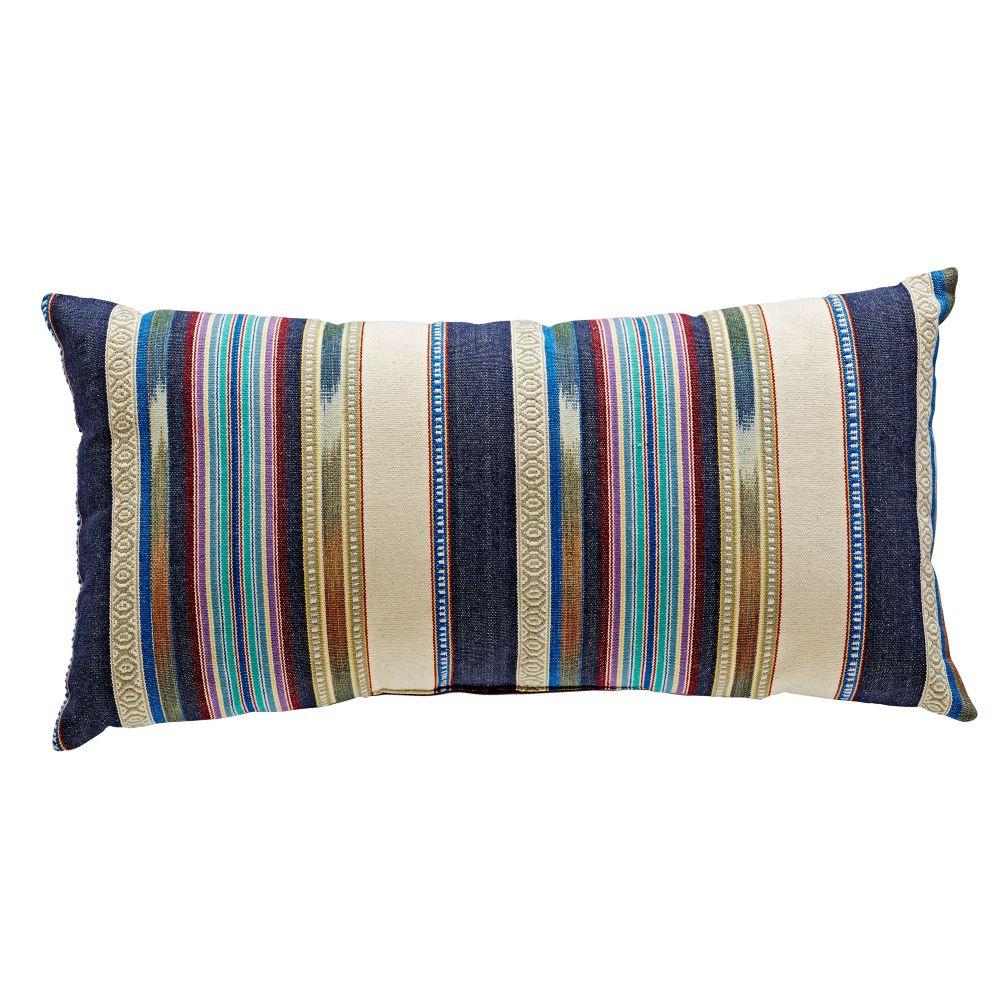 Serape Throw Pillow