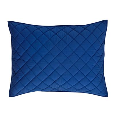 Blue Moving Blanket Sham