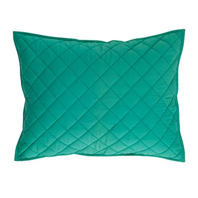 Green Moving Blanket Sham