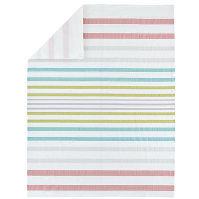 Sherbet Stripes Duvet Cover (Twin)