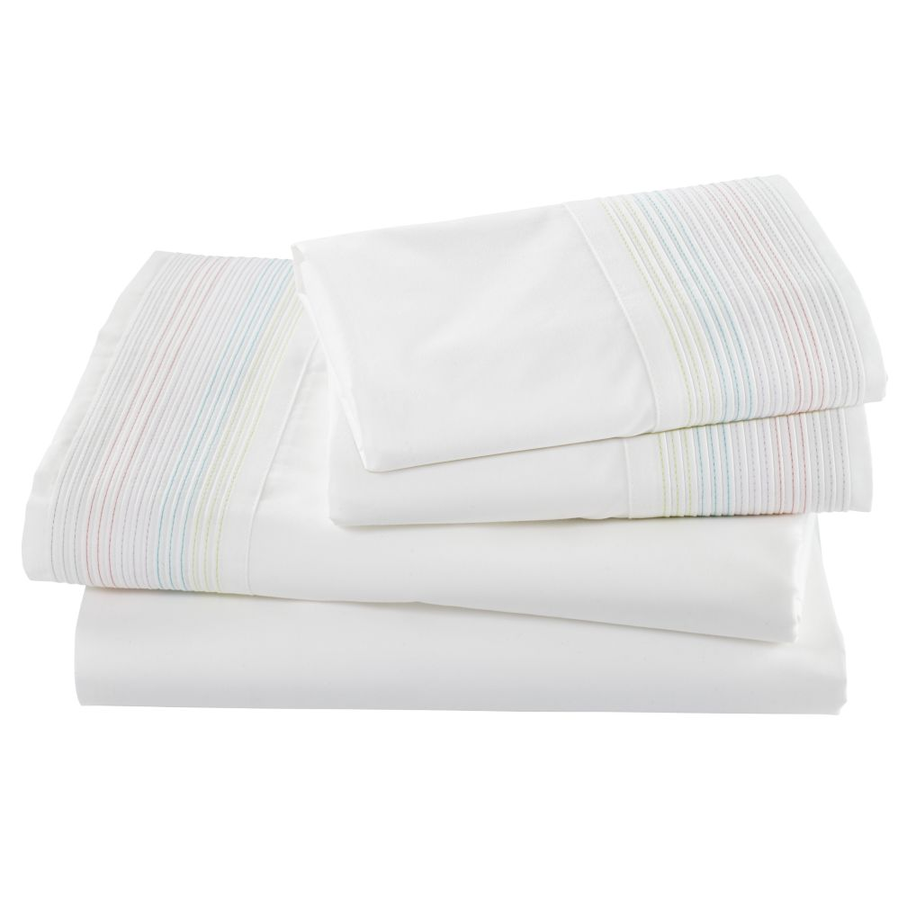 Sherbet Stripes Sheet Set (Queen)