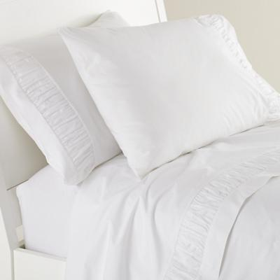 Bedding_ShtSt_Ruched_WH_1111