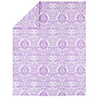 Twin Lavender Sleep Patterns Duvet Cover