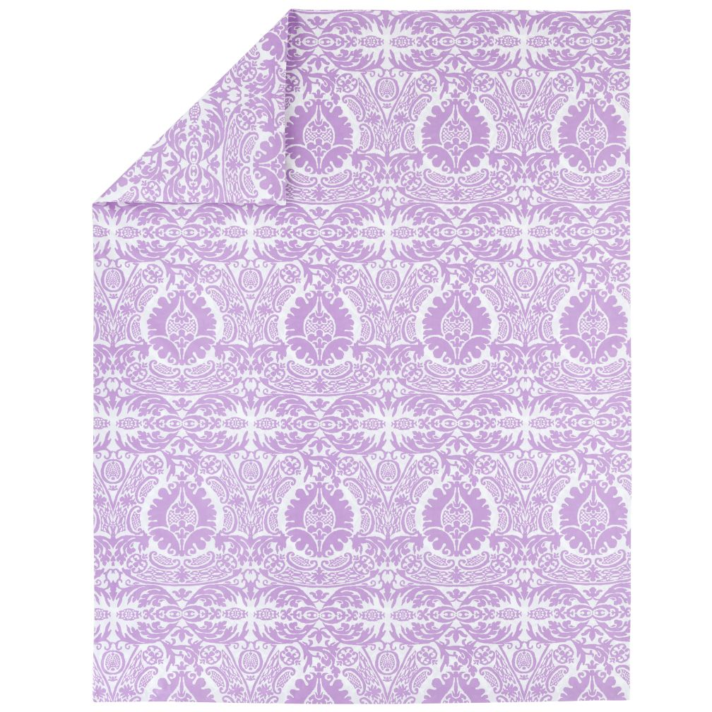 Sleep Patterns Lavender Duvet Cover (Full-Queen)