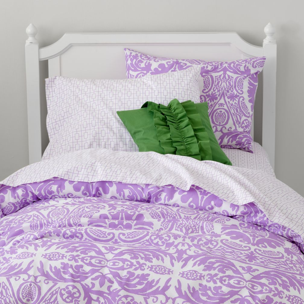 Sleep Patterns Duvet Cover (Lavender)