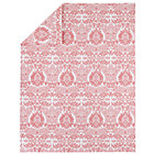 Twin Pink Sleep Patterns Duvet Cover